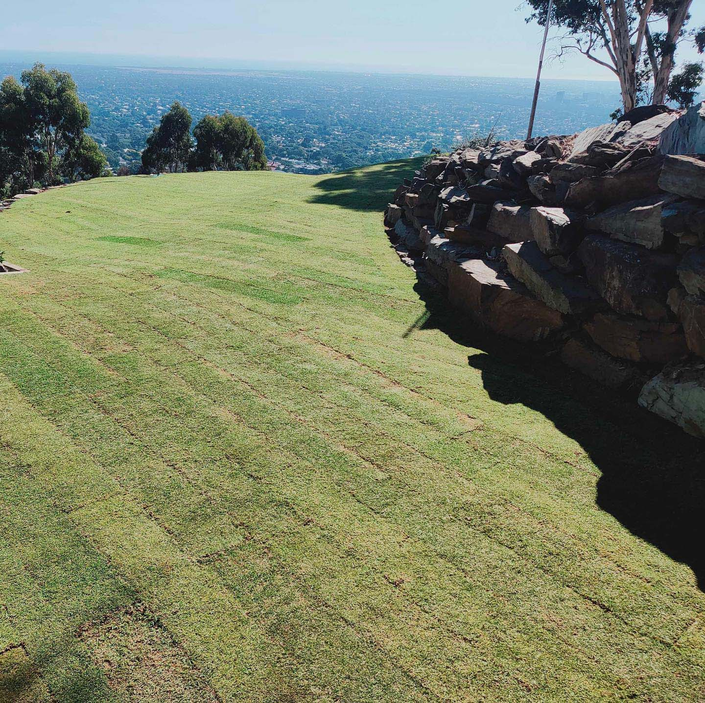 Mount Osmond – installation with a view! - Before