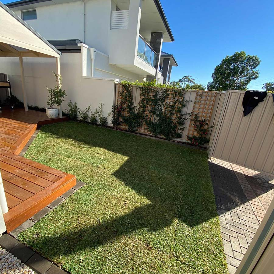 Grange – from paving to garden - Completed