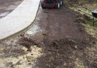 Lawn Repair - Preparation